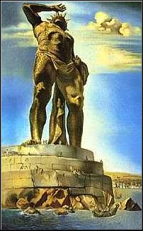 Dali's Colossus of Rhodes