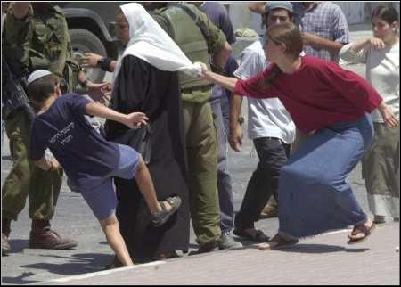 West Banks Settlers Attack Palestinian Woman