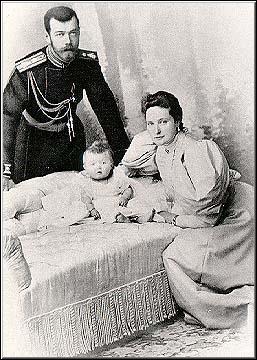 Tsar Nicholas, Alexandra, Olga